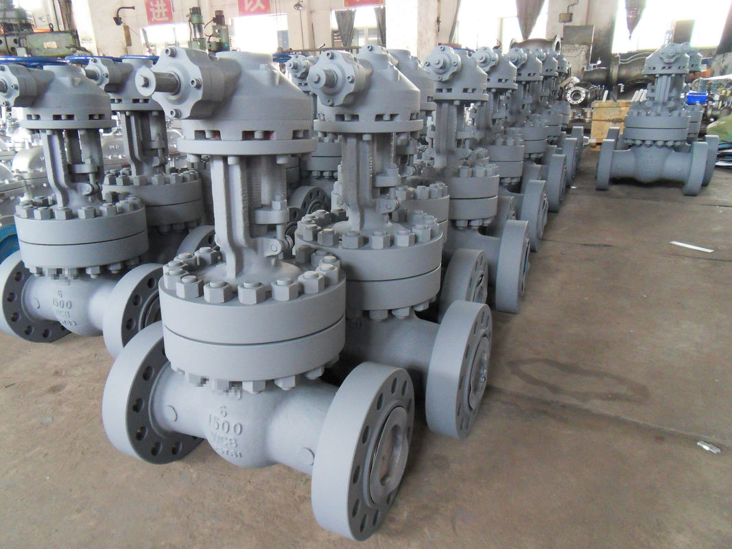 CK3MCUN Body Flexible Wedge Gate Valve With Threaded Or Welded Seat Ring